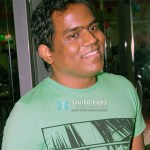 Yuvan chills out in Singapore