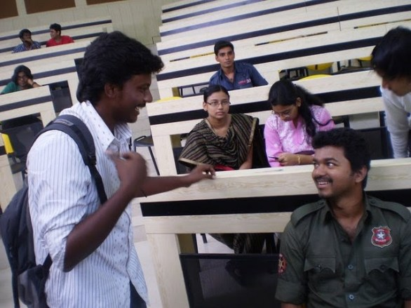 kaavalkaaran shooting spot 7 586x439 Kaavalan Movie Shooting Spot Photo Gallery
