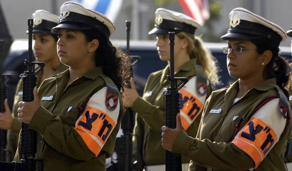 Israeli military police women Armed Forces