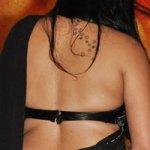 Namitha gets a big 'tattoo' on her back!