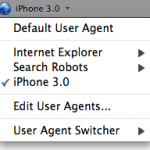 User Agent Switcher - Firefox Add-On for Developers
