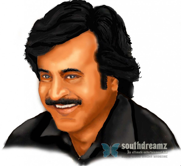 Rana rajnikanth Raanas new look   Superstar Rajnikanth
