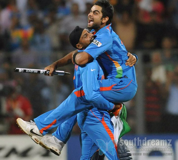 indian cricket team ICC cricket world cup 2011 champian stills 5 INDIA wins ICC Cricket World Cup 2011