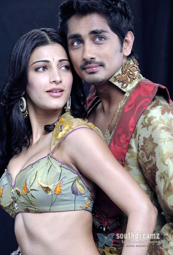 SiddharthShruti Hassan Anaganaga O Dheerudu Movie Stills No more Bilinguals for Now   Siddharth