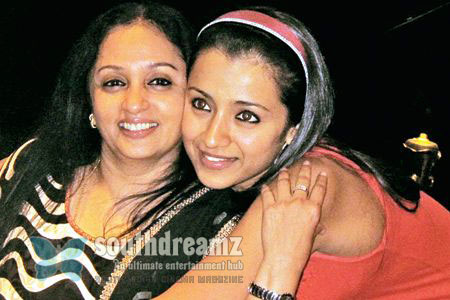 Trisha uma Trisha denies marriage rumours