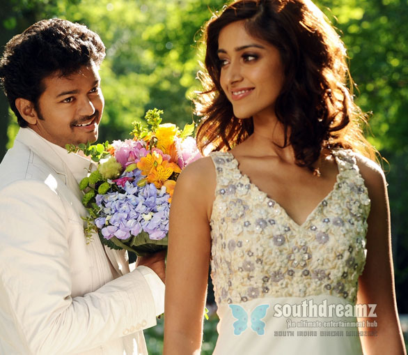 nanban vijay ileana latest stills Vijays 360 degree nanban promotion