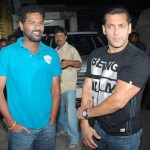 Salman Khan & Prabhu Deva bond big time
