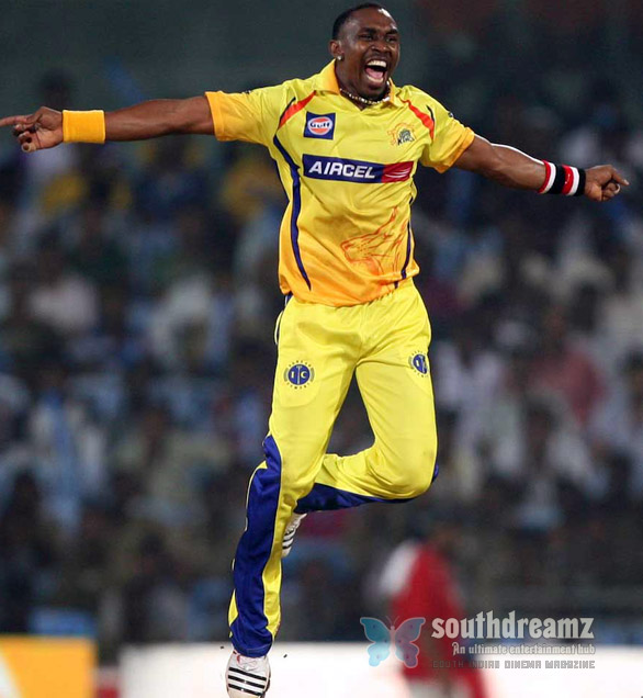 Dwayne Bravos all round effort led the Super Kings to their first win IPL 5   Bravo! Its Team Chennai again
