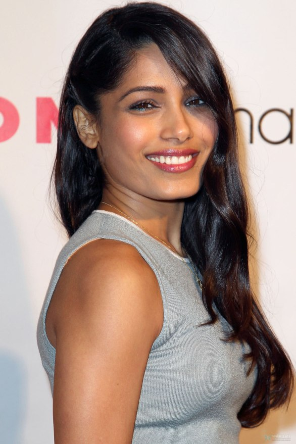 Freida Pinto attends Nylon Magazine 13th Anniversary Cel 004 586x879 Freida Pinto   Nylon Magazine 13th Anniversary Celebration
