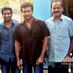 Surya on Settai shooting spot!