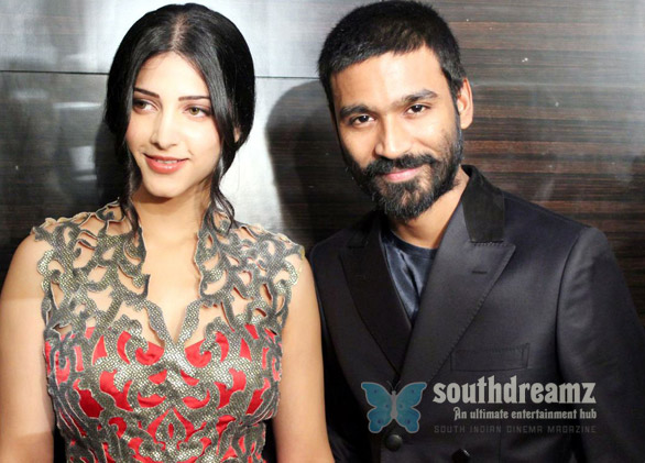 Dhanush new girl friend shruti hassan Dhanushs new assignment