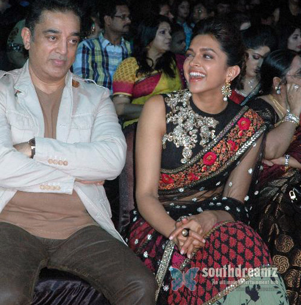 Kamal Haasan at 59th Filmfare Awards 6 59th South Indian Filmfare Awards
