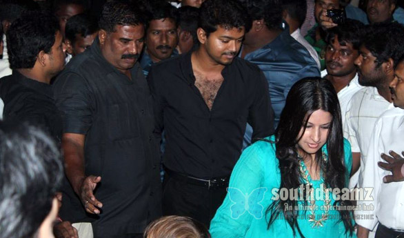 Vijay graced the audio launch of Mugamoodi Vijays New Car…