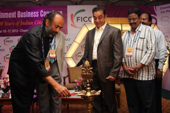 FICCI 2012 Inaugural Function Stills 3 586x390 100 Years of Sound in Indian Cinema