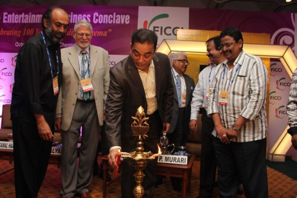 FICCI 2012 Inaugural Function Stills 586x390 100 Years of Sound in Indian Cinema