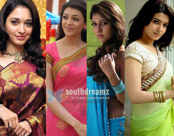 Top 5 actress of Telugu Cinema Top 10 South Actresses in Bollywood