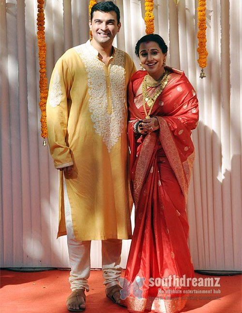 Vidya Balan Wedding Photos 1550 Vidya Balans wedding celebrations