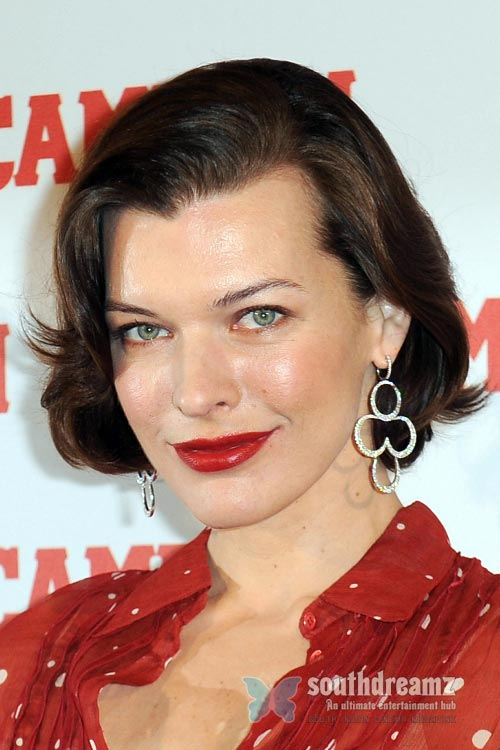 actress milla jovovich latest photo Top 100 sexiest actresses in the World