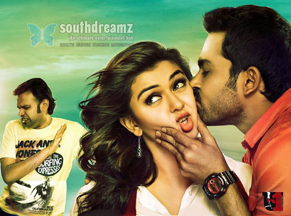 Hansika Motwani Cheeks Crushed And Kissed Hansika Motwanis cheeks crushed and Kissed!