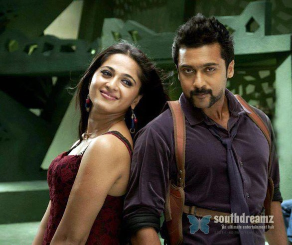 singam 2 surya and anushka love making stills 2 586x492 Singam 2 review