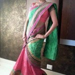 Saree look for Magazine cover