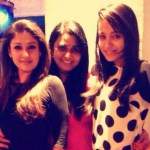 Trisha parties with Nayantara