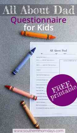 Astounding All About Dad Printable Questionnaire Kindergarten Kids Sourn Momdays Far S Day Questionnaire Papa Far S Day Questionnaire Featured By Sourn Momdays Free All About Dad Questionnaire