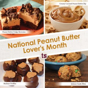 National Peanut Butter Month