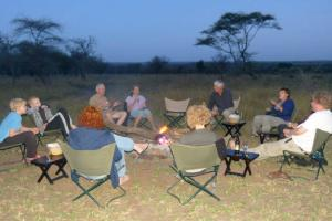 Serengeti campfire