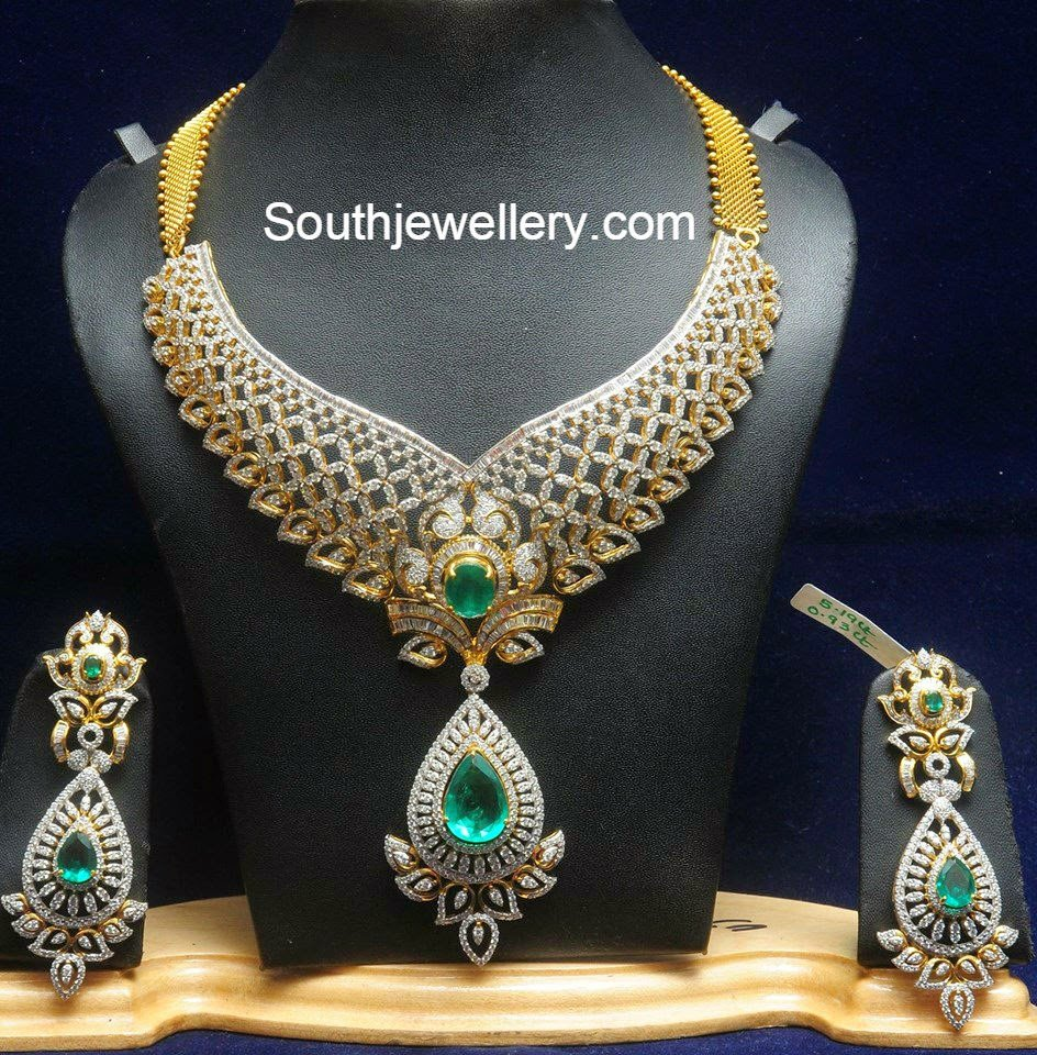 Bridal Necklace Latest Jewelry Designs Jewellery Designs