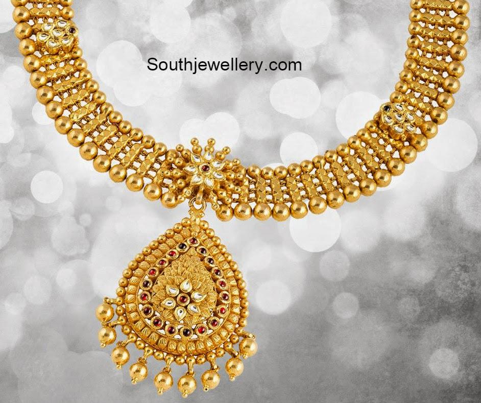 Antique Jewellery Necklaces Antique Gold Necklace Models