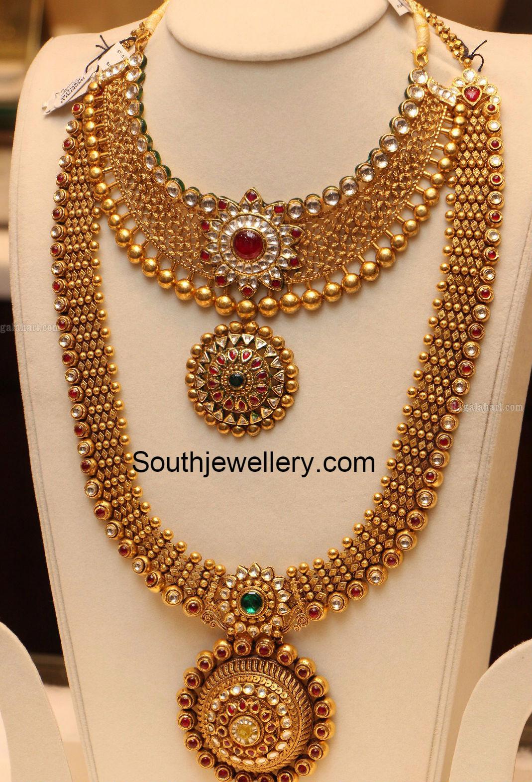 Kundan Long Chain Latest Jewelry Designs Jewellery Designs