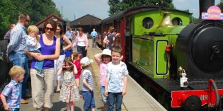 Full steam ahead at Middleton Railway