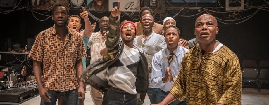 Barber Shop Chronicles at West Yorkshire Playhouse