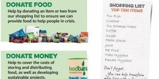 Belle Isle TMO help support your Foodbank