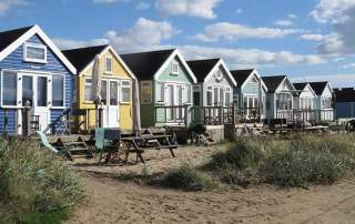 A Busman's holiday. Beach Huts at Hengistbury © Colin Church