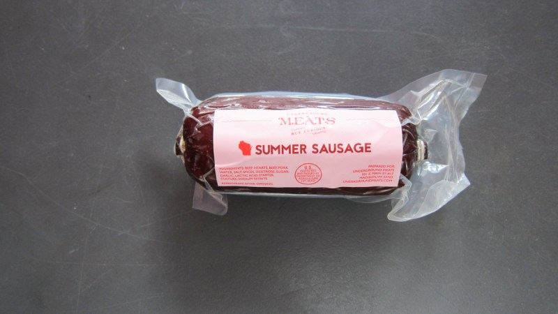 Underground Meats Summer Sausage – Meat The Best