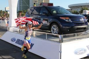 Jacobs set IronMan Florida Course Record of 8:55:10