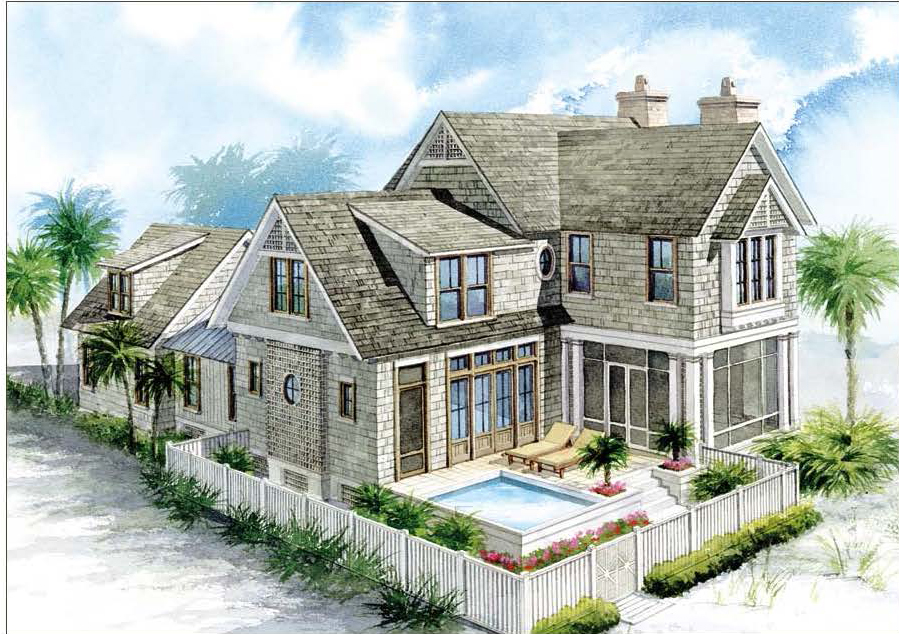 Gulfview at watersound beach the newest luxury community for Nantucket floor plan