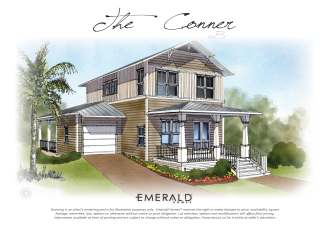 Conner Plan in Highland Parks Blue Mountain Beach