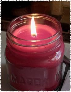 Mason Jar Soy Candle Making