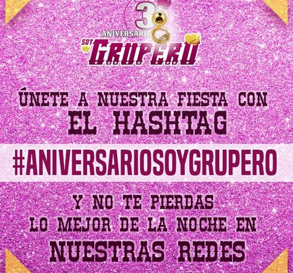 Aniversario Soy Grupero.