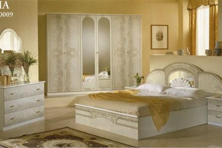 ersin möbel berlin - italienische schlafzimmer; sara, nussbaum ...