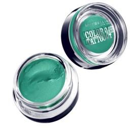 Maybelline Eye Studio Color Tattoo 24HR Cream Gel Shadow in Edgy Emerald.