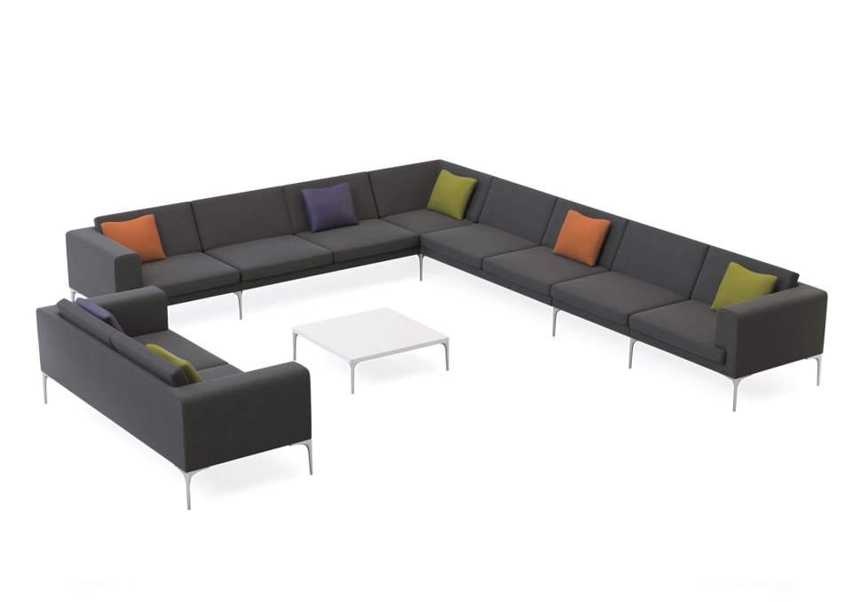 Picture of Orangebox Vale Reception Sofa Seating