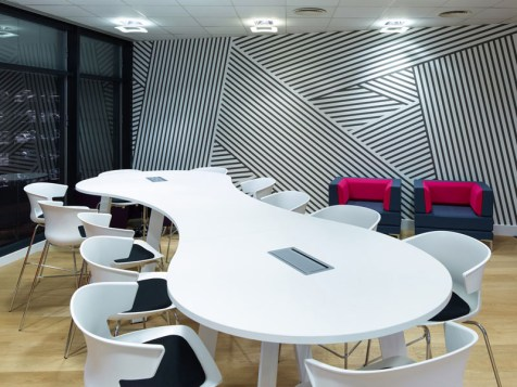 Image of Thames Water HQ meeting room