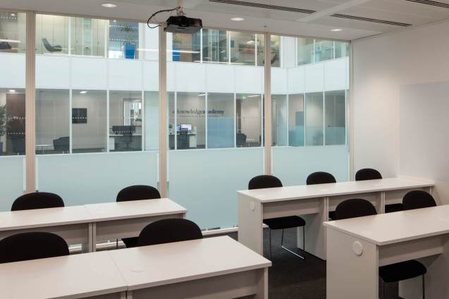 Image of refurbished London Training Rooms