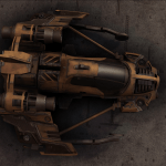 Another spaceship in Miner Wars 2081.