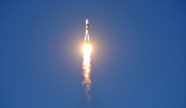 A launch of a Soyuz U rocket (Source: Roscosmos).