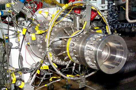 The Integrated Power Demonstrator, part of Aerojet's Next-Generation Engine Program (Credits: Aerojet).